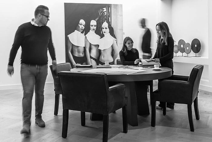 Het design team van Thomassen Interieurs staat altijd voor u klaar!
